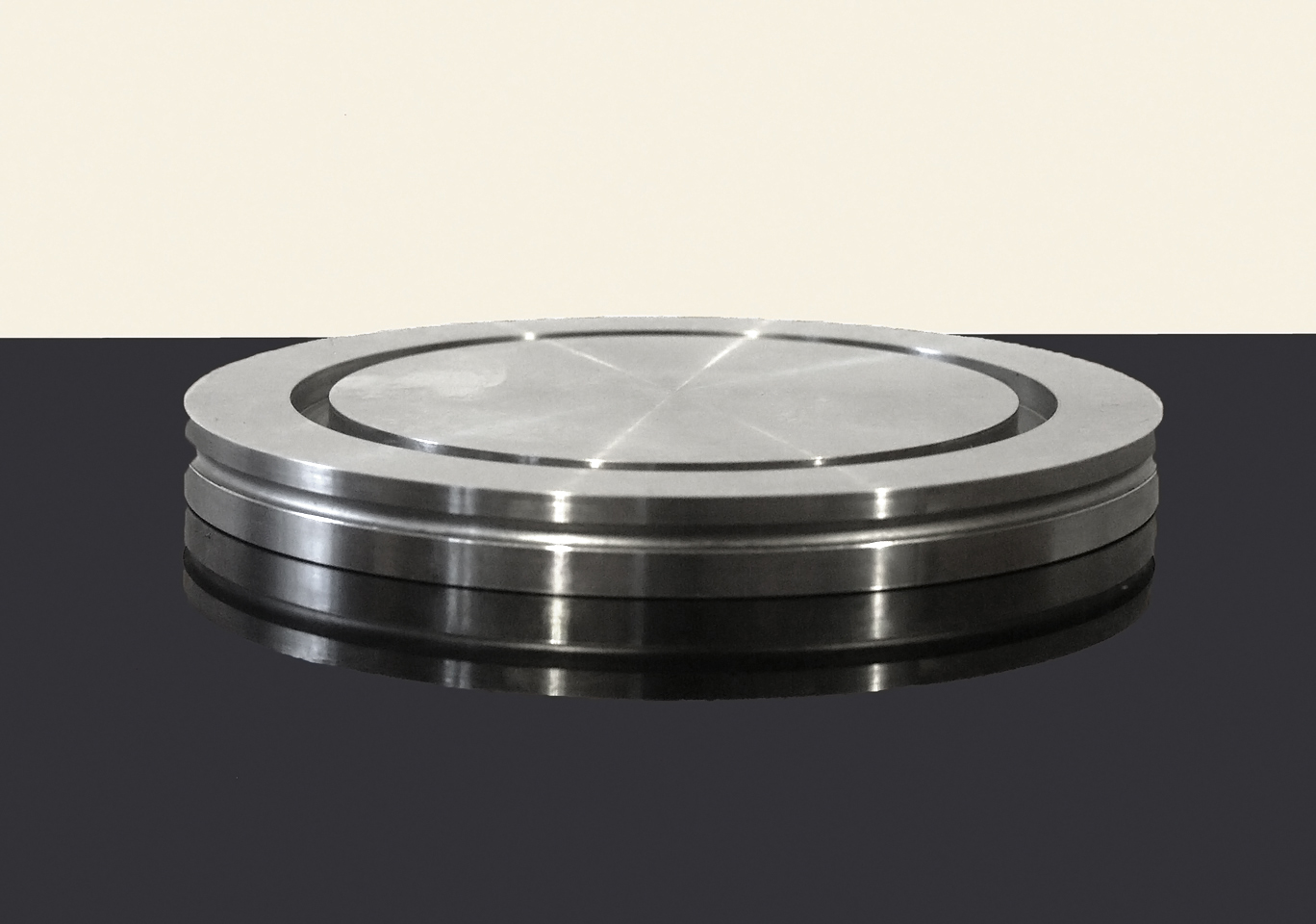 Blank fixed flange ISO-CF 200 SS
